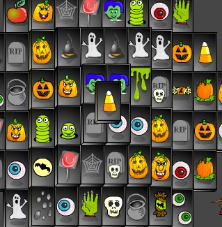 halloween games pages